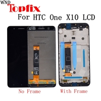 5.5For HTC ONE X10 LCD Display Touch Screen Digitizer Assembly Replacement Parts For HTC E66 display For HTC X10 LCD