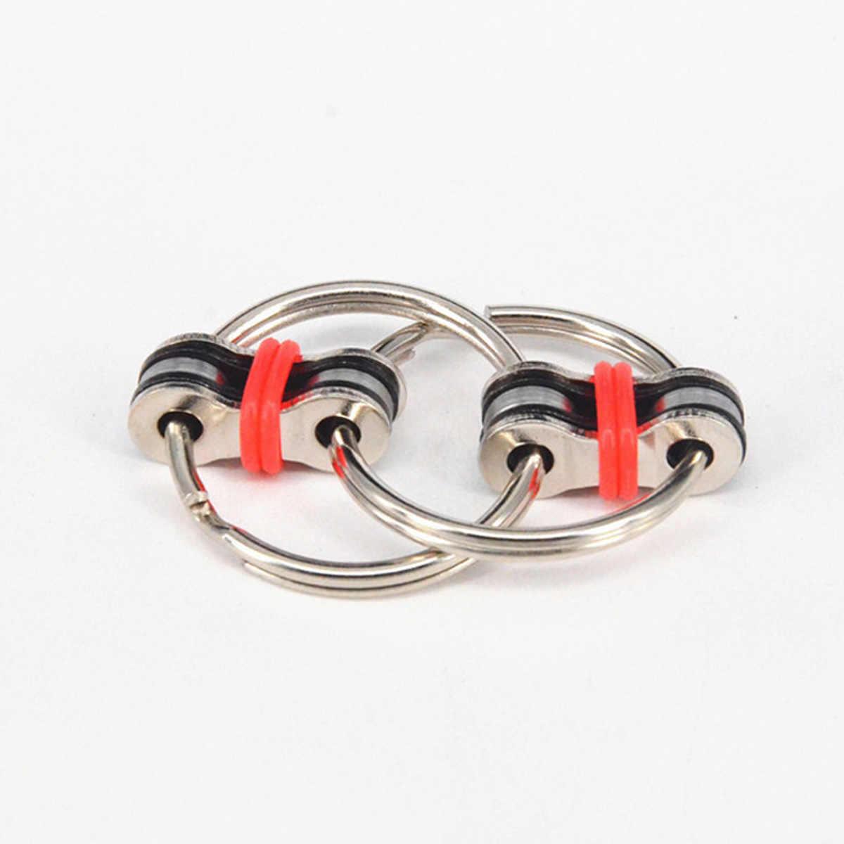 Новый брелок ручной Спиннер Tri-Spinner уменьшить стресс EDC игрушка при аутизме антистрессовые игрушки для антистресс для взрослых кончик пальца