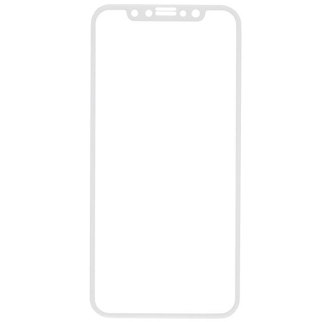Защитное стекло Red Line для iPhone X Full Screen (3D) белое