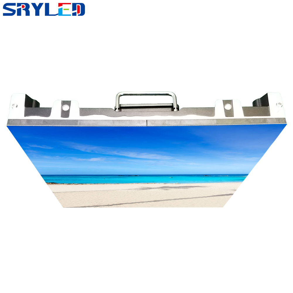 500x500mm p3.91 indoor led rental screen led display screen die cast aluminum cabinet advertising video wall