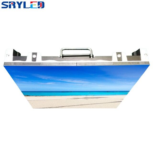 500x500mm p3.91 indoor led tela de aluguel led tela de exibição de alumínio fundido gabinete publicidade parede vídeo