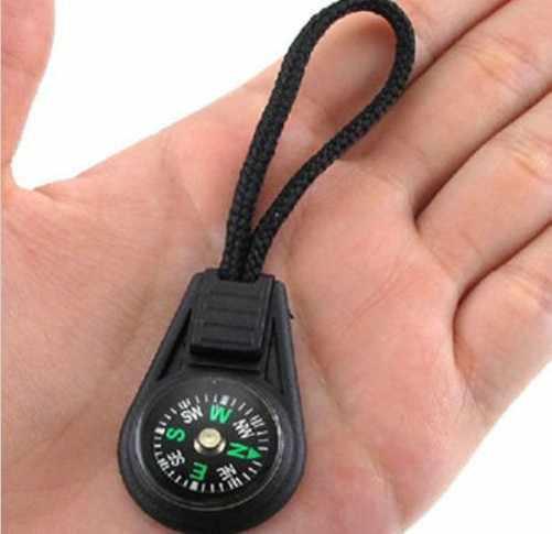 Мини подвесное кольцо ручной Компас для кемпинга дешевые портативные походные инструменты пластмассовая Скакалка компас на ремешке с шнурком Новое поступление 1 шт