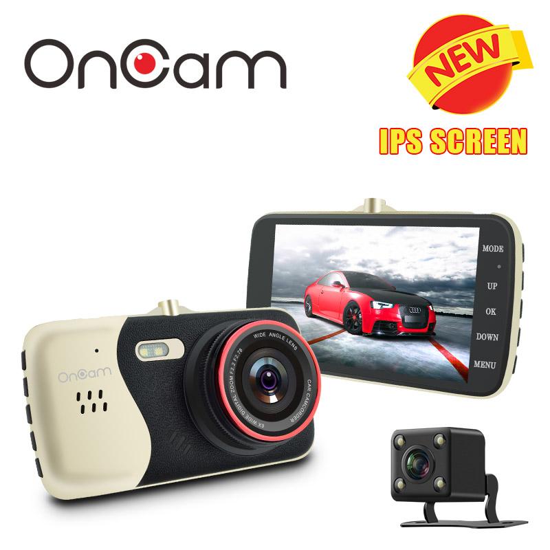 Prix pour D'origine 4.0 Pouce IPS Écran Voiture DVR Novatek NTK96658 Voiture Caméra t810 oncam dash caméra full hd 1080 p vidéo 170 degrés tableau de bord Cam
