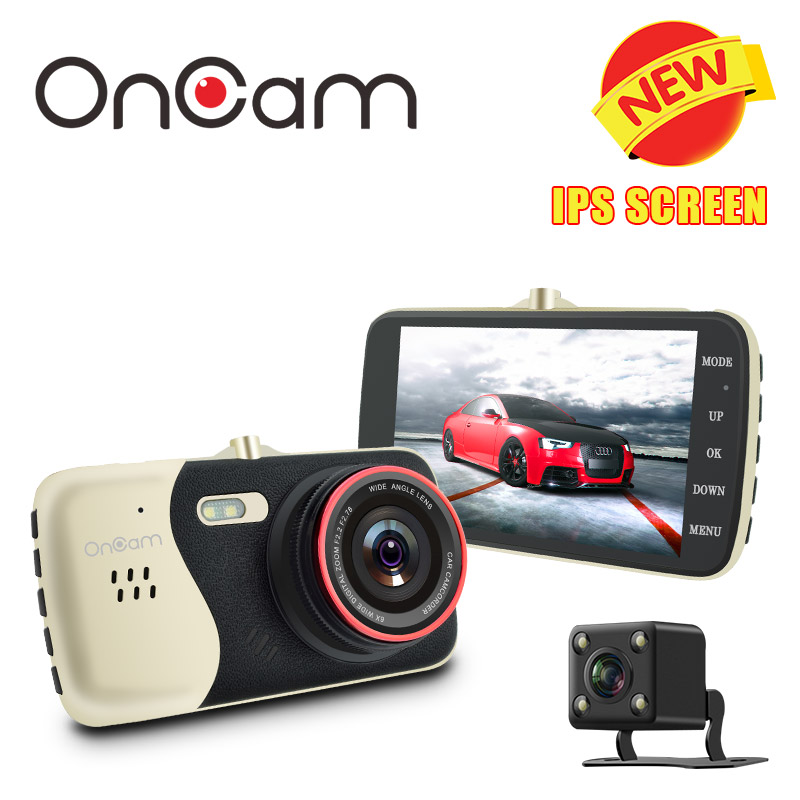 Original 4.0 Inch IPS Screen Car DVR Novatek NTK96658 Car Camera T810 Oncam Dash Camera Full HD 1080P Video 170 Degree Dash Cam
