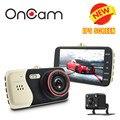 Original 4.0 Polegada IPS Tela Carro Câmera Do Carro DVR Novatek NTK96658 t810 oncam traço camera full hd 1080 p vídeo 170 graus traço Cam