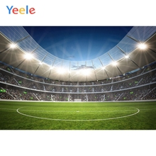 Yeele Football Soccer Field Photography Backdrops European Champions League Custom Photographic Backgrounds For Photo Studio Kid