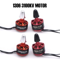 4Pcs Kingkong 1306 3100KV 2 4S Burshless Motor CW/CCW for FPV Racer Drones RC Multicopter Spare Accessories
