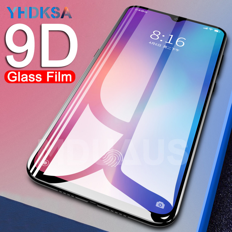 9D Protective <font><b>Glass</b></font> on the For <font><b>Xiaomi</b></font> Mi 8 9 SE <font><b>A1</b></font> A2 Lite Mi Max 3 2 Note 3 Pocophone F1 Tempered <font><b>Screen</b></font> <font><b>Protector</b></font> <font><b>Glass</b></font> Film image