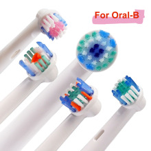 4PCS Oral B Electric Toothbrush Replacement Heads For Soft Bristle Vitality Dual Clean Professional Care SmartSeries