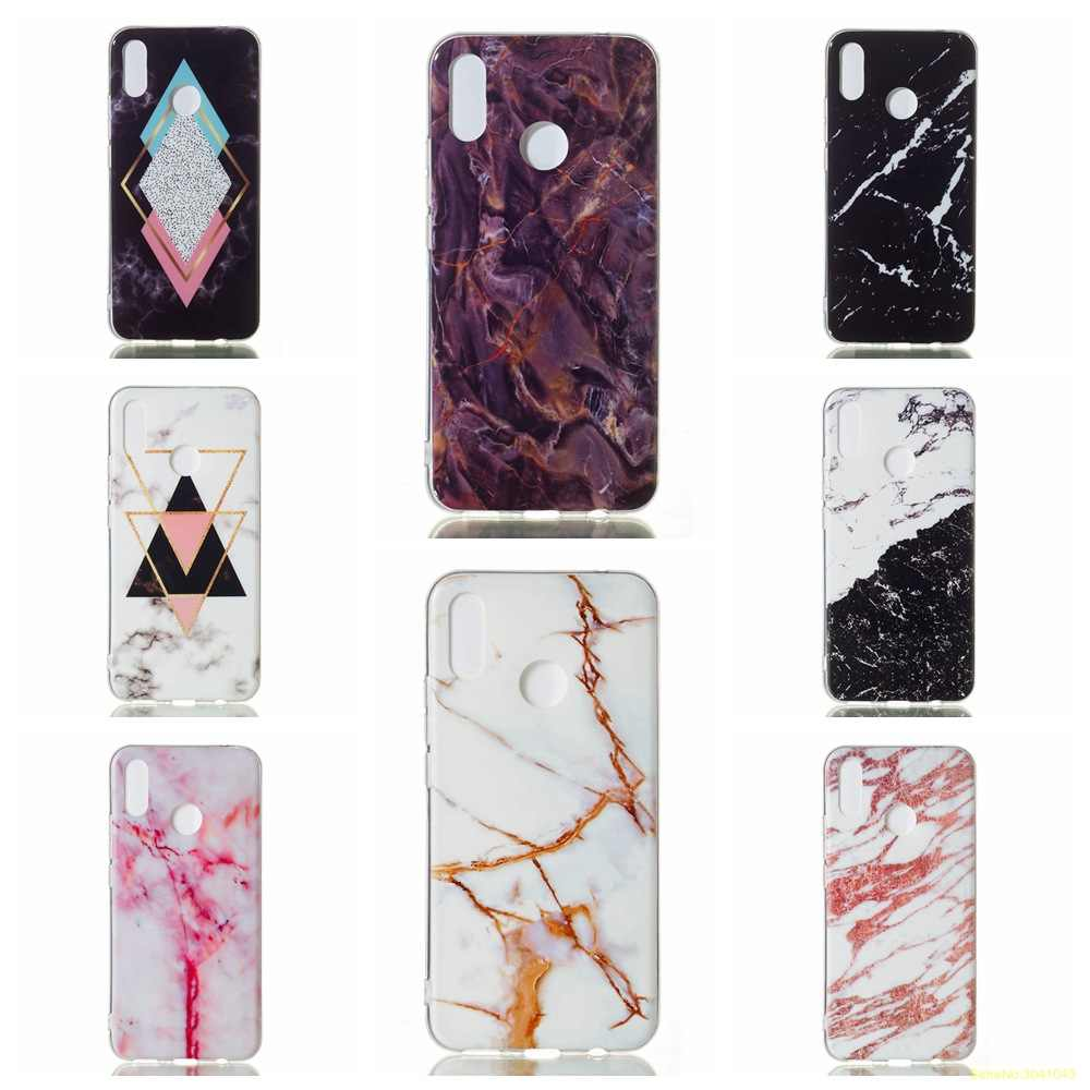 Luxury Marble pattern high Quality soft TPU phone case For Huawei P Smart Plus P Smart 2019 P10 Lite fundas coque cover etui