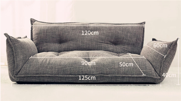 Enjoyable Details About Sofa Bed Modern Design Floor 5 Position Adjustable Lazy Sofa Japanese Style Machost Co Dining Chair Design Ideas Machostcouk