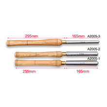 High Speed Steel A2005-1 A2005-2 A2005-3 Woodturning Woodworking Tools Roughing Gouge Wood Lathe Turning HSS JF1623