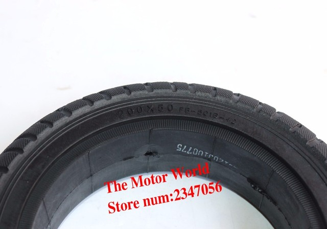 200x50 8 X2 Solid Tyre Without Inner For Gas Pocket Bike Razor Electric