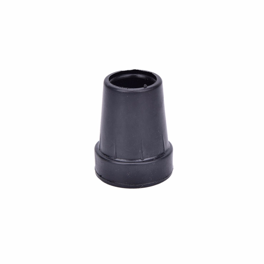 19mm Walking Stick Cane Crutch Pad Rubber Heavy Duty Ferrule End Bottom Ec