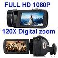 WINAIT HDVZ80 FULL HD 1080 P цифровая видеокамера с 3.0 ''сенсорным дисплеем и digiatal 120x зум
