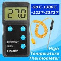 High Accuracy Digital Thermometer Pyrometer Temperature Sensor Hygrometer Tool Measurement Analysis Instruments Meter Tools