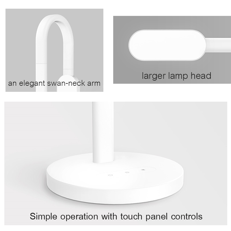 Image 3 - Original Xiaomi  Led Desk Lamp Dimmable Folding Lights Touch Adjust Flexible Lamps  Energy Saving For xiaomi smart home kits-in Smart Remote Control from Consumer Electronics