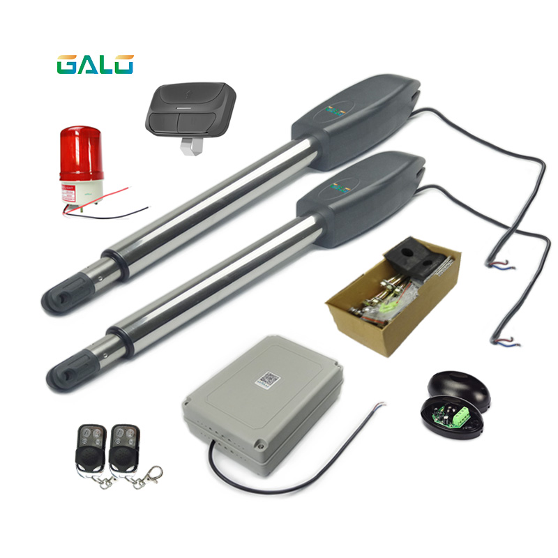 Swing Gate Opener/Electrical gate Operators motors linear actuator with remote control kit optional 300kg
