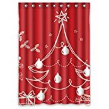 Christmas tree Shower Curtains Water Proof Bath Curtain Modern Shower Curtain Print Art Shower curtain