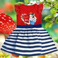 Detalles sobre Baby Girls Niños Ropa de Verano Blancanieves Princesa Party Dress 1-6Yrs