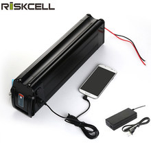 24v 36v 48v 52v Silver fish Ebike battery 10ah 12ah 15ah 16ah 17ah 19.2ah 20ah for 250w 350w 500w 750w 1000w motor(China)