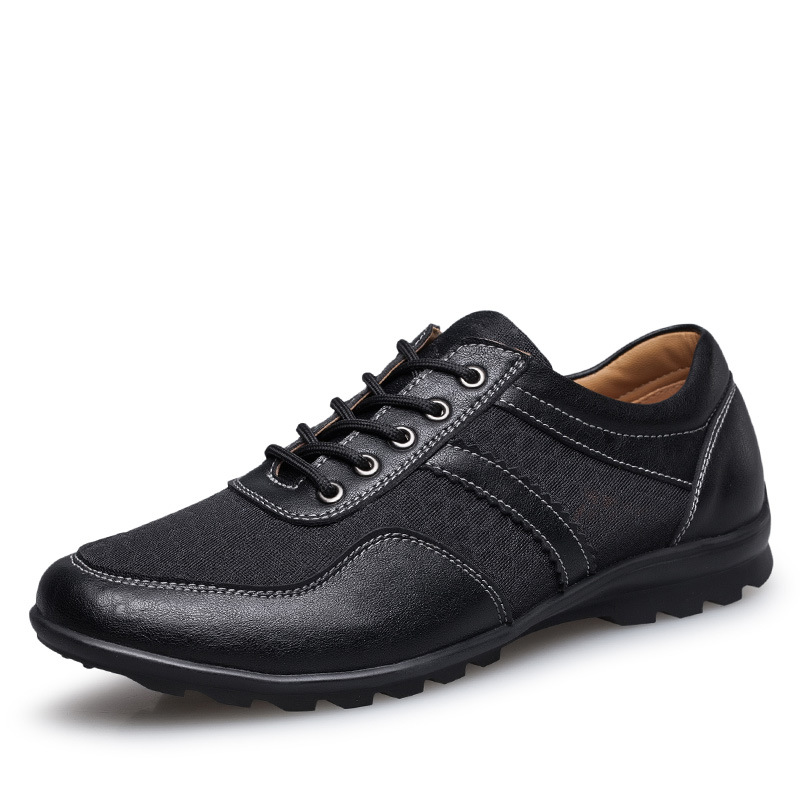 Big Size Shoes Men Casual Genuine Leather Mesh Shoes Luxury Brand Men Flats Shoes Spring Autumn Fashion Men Oxfords Shoes 2A relikey brand men casual handmade shoes cow suede male oxfords spring high quality genuine leather flats classics dress shoes