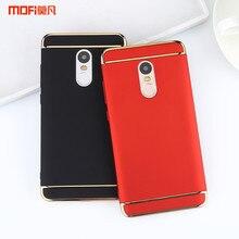 Глобальная версия Xiaomi Redmi Note 4 Чехол Redmi Note 4X чехол задняя крышка Роскошные Redmi Note 4 X крышка MOFI original Капа Coque принципиально
