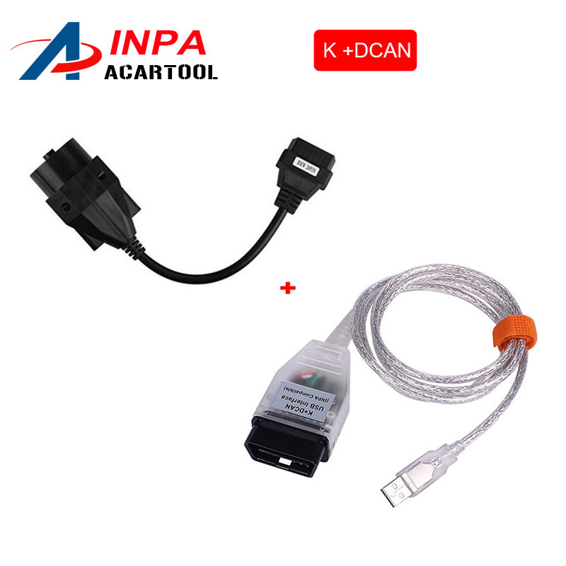 For BMW INPA K + CAN K CAN INPA With FT232RL Chip INPA K DCAN USB Interface Plus