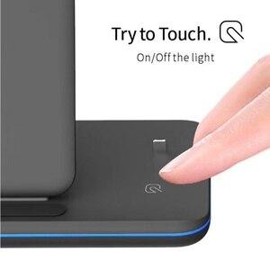 Image 3 - Cargador inalámbrico rápido Tongdaytech 3 en 1 Qi para Apple Watch 5 4 3 2 1 estación de carga rápida para Iphone 8 Pus XS 11 Pro MAX