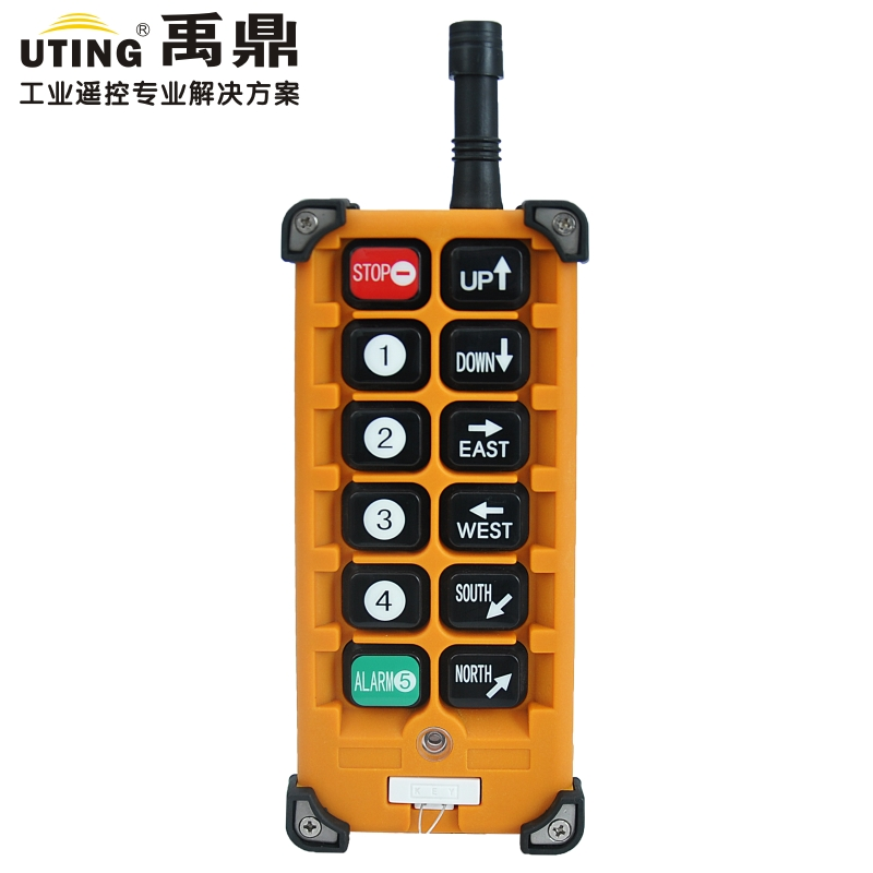F23-A++ 1 transmitter 12 keys crane remote controller /hoist Remote Control transmitter /wireless remote control burgundy lace up design one shoulder long sleeves sweaters