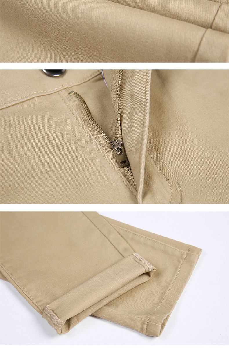 HTB1T4M9atfvK1RjSspfq6zzXFXau 6 Color Casual Pants Men 2019 Spring New Business Fashion Casual Elastic Straigh Trousers Male Brand Gray White Khaki Navy