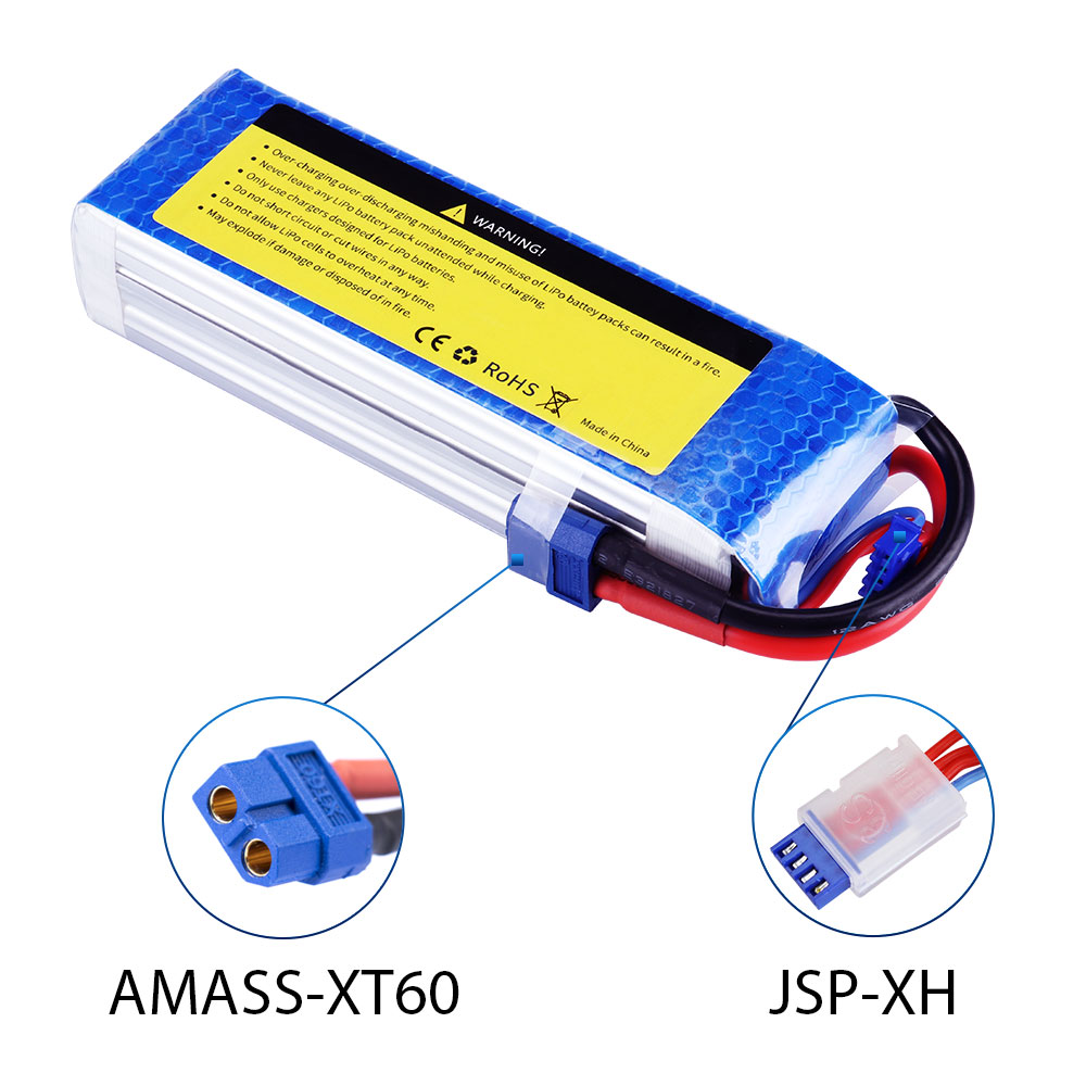 Image 4 - SEASKY 4S lipo Battery 14.8V 5200mAh 60C RC battery lipo 14.8V XT60 battery for FPV drone-in Parts & Accessories from Toys & Hobbies
