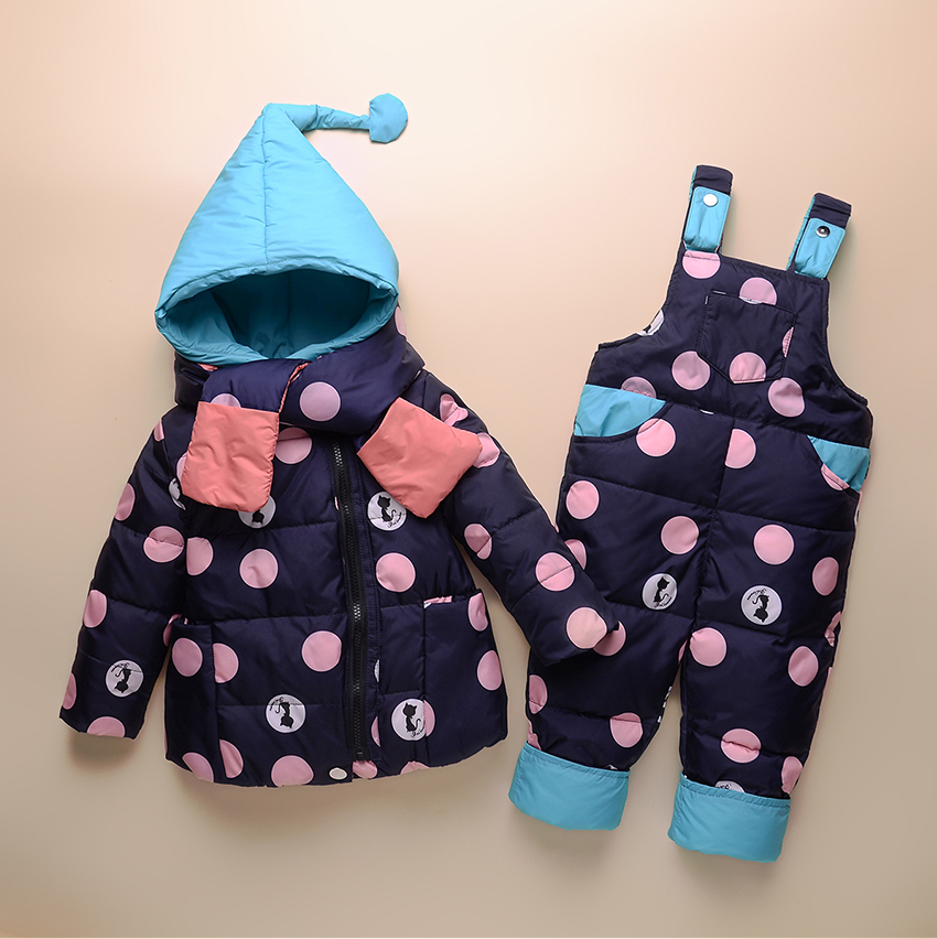 3ab522d0a winter down jacket parka overalls for girls boys coats