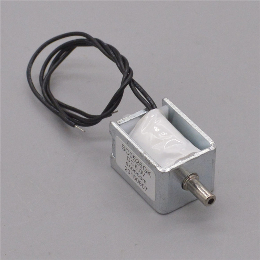 1PC DC 6V Mini Micro Solenoid Valve Air Gas Release Exhaust Discouraged 3mm Solenoid Exhaust Valve 90mA 0.54 W