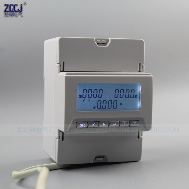3 phase 3 wire , and 3 phase 4 wire din type 3 phase voltage meter ...