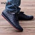 Los Hombres CALIENTES Hombres Zapatillas De Verano Fresco Ventilar hombres Zapatos Casuales de Encaje hasta Pisos Loafers Slip on de Cuero de LA PU de Los Hombres Envío Gratis NOVIA-LS104