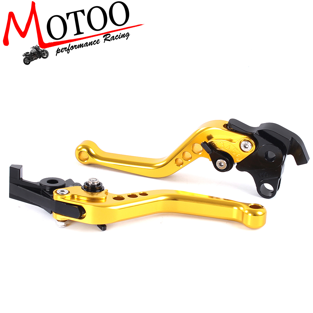 Motoo -  F-18  V-00 Motorcycle Brake Clutch Levers For HONDA VTR1000F / FIRESTORM CBF1000 VFR750 VF750S SABRE VFR800/F 5 color for vfr 750 800 vtr1000f cbf1000 vfr750 vfr800 folding extendable brake clutch levers gold motorcycle