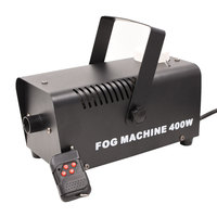 400W Smoke Machine Wireless Remote Control For Home Party Music Center DJ Stage Effect Equipment Mini Fog Machine