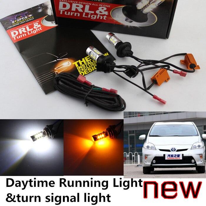 Cheetah Toyota 2008-2014 Prius LED DRL Daytime Running Light&turn signal light one high power - auto lights shop store