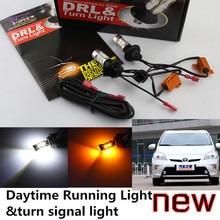 Cheetah Freies verschiffen für Toyota 2008-2014 Prius LED DRL Prius Tagfahrlicht & blinker licht alle in einem high power