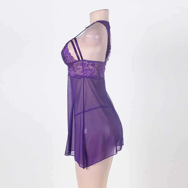 Women Nightwear Sleepwear Babydoll Chemise Nightgowns