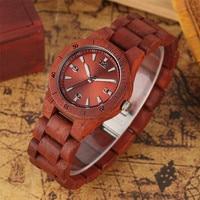 Reloj de pulso en madera completo colores 3