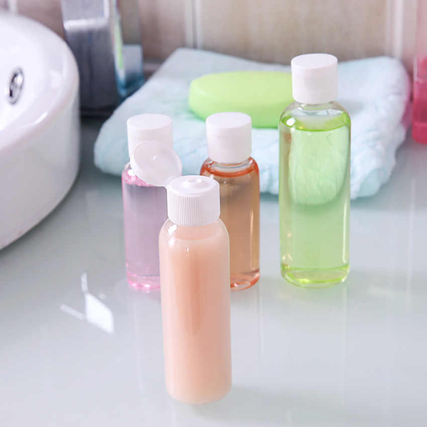30/50/60ml portable travel cosmetic bottle shampoo lotion emulsion shower Gel container bottling empty plastic makeup organizer