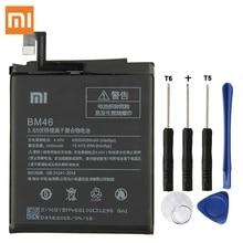 Original Replacement Battery For Xiaomi Redmi Note 3 Hongmi Note3 Pro Redrice Note 3 BM46 Genuine Phone Battery 4050mAh xiao mi xiaomi bm46 phone battery for xiao mi redmi note 3 pro hongmi note3 redrice note 3 4050mah bm46 original battery tool