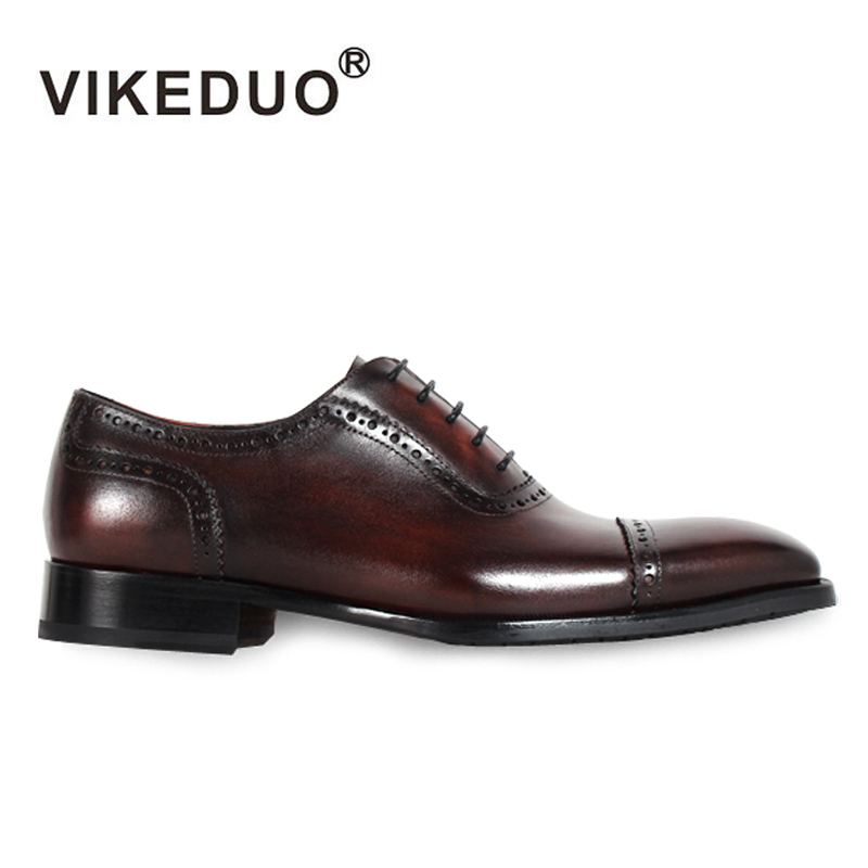 2018 New Superstar Handmade Vintage Mens Oxford Shoes Hot Genuine Leather Wedding Party Dress Meeting Office Original Design 2017 vintage retro custom men flat hot sale real mens oxford shoes dress wedding party genuine leather shoes original design