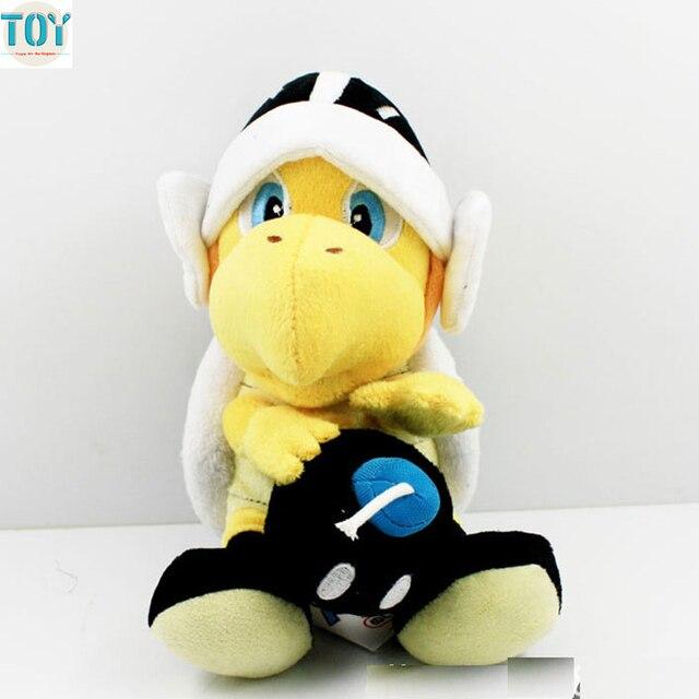 ohmetoy super mario bomb koopa troopa black turtle plush toy