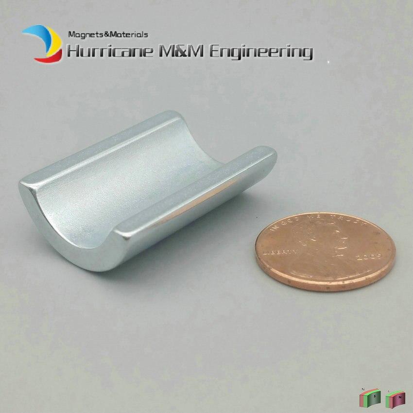 NdFeB сегмента дуги OR11.75xIR8.05xL31.4xW22.5xH9xT3.7 мм сильный водопровод фильтр неодимовые воды смягчить магниты 3600GS 2-60 шт.