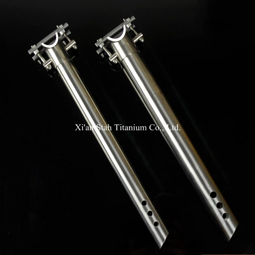 Titanium Gr5 (Ti-6AL/4V) Top Clamp 2-bolt Style Seatpost Seat Post  27.2 * 350mm / 27.2 * 400mm  / 31.6 * 350mm 31.6*400mm