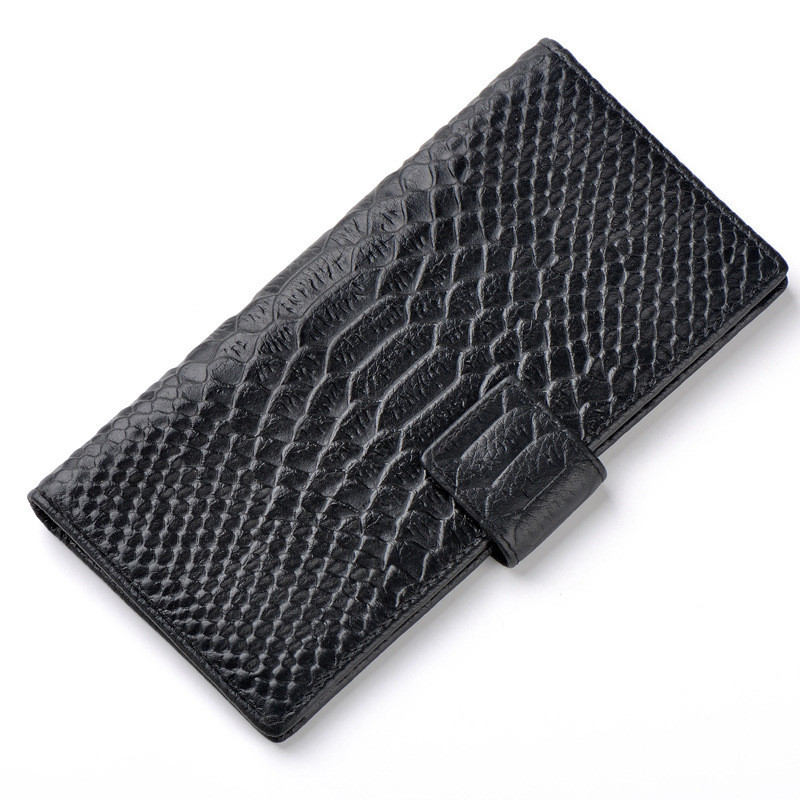 Free Shipping 8 Colors Serpentine Genuine Leather Bag Coin Purse Women Wallets Purses Female Clutch Girl Card Holder Coin Pouch