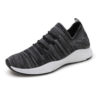 Breathable Running Shoes For Man Black White Sport Shoes Men Sneakers Brand Comfortable Lace Up Sport Shoes Spring Autumn
